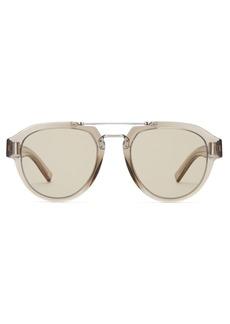 Dior Homme Sunglasses DiorFraction5 aviator metal sunglasses