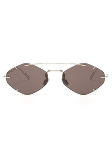 Dior Homme Sunglasses DiorInclusion round metal sunglasses