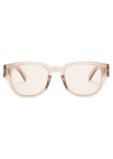Dior Homme Sunglasses Fraction 3 D-frame acetate sunglasses