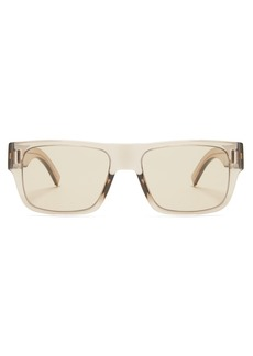Dior Homme Sunglasses Fraction 4 square acetate sunglasses