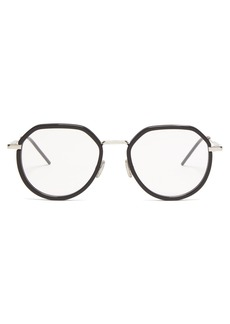 Dior Homme Sunglasses Round acetate and metal glasses