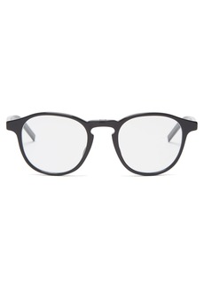 Dior Homme Sunglasses Round-frame acetate glasses