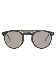 Dior Homme Sunglasses Round-frame sunglasses