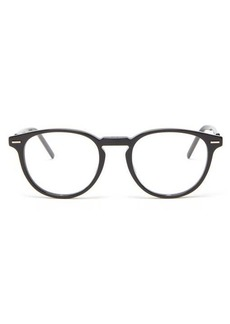 Dior Homme Sunglasses Technicity round acetate glasses