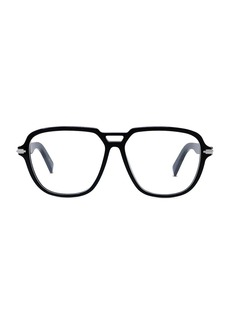 Christian Dior Dior180° AU 57MM Plastic Aviator Optical Glasses