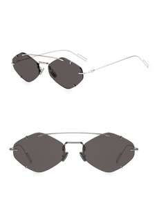 DIOR HOMME Inclusion 57MM Diamond Sunglasses