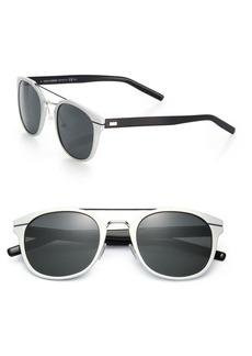 DIOR HOMME Metal Round Sunglasses