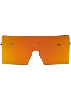 DIOR HOMME Orange Hardior 610T Shield Sunglasses