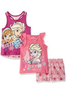 Disney 3 Piece Frozen Short Set