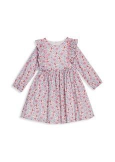 Disney Baby's & Little Girl's Floral Ruffle Dress