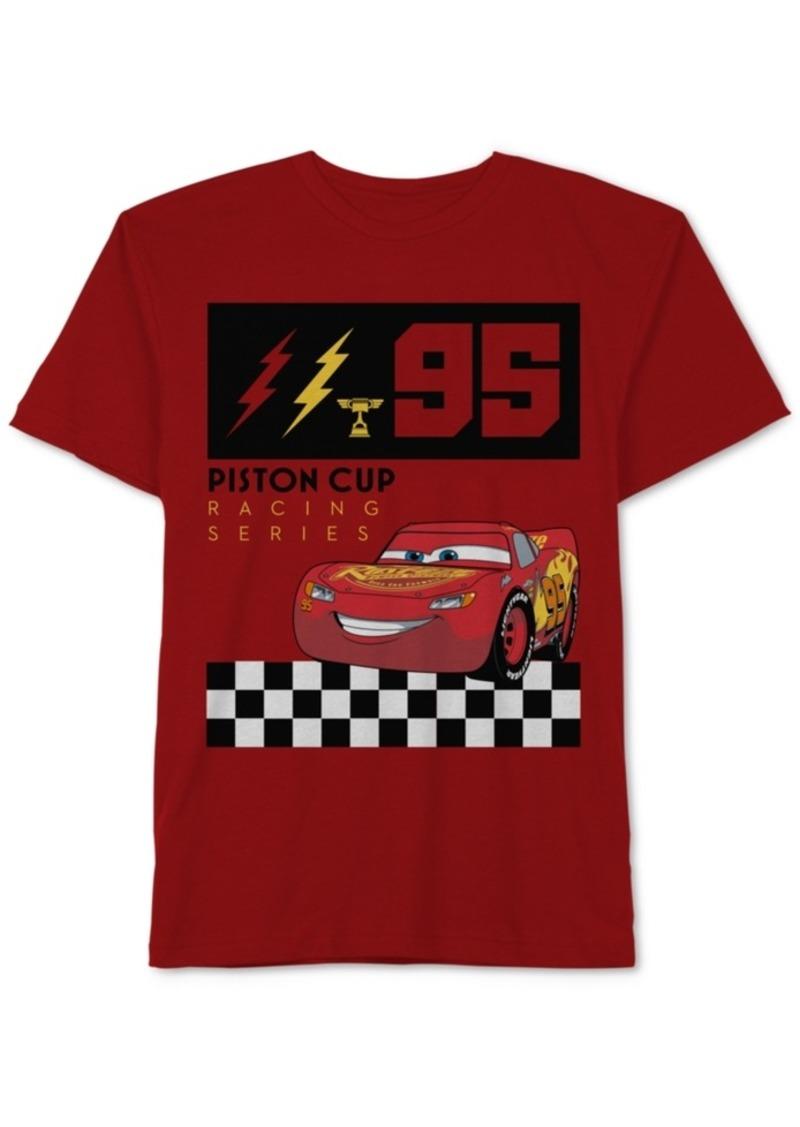 Disney Cars Little Boys Lightning McQueen Graphic Cotton T-Shirt ... 5da91b69d95