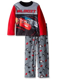 Disney Big Boys' Cars 2-piece Fleece Pajama Set