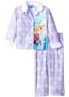 Disney Big Girls' Frozen 2-Piece Pajama Coat Set