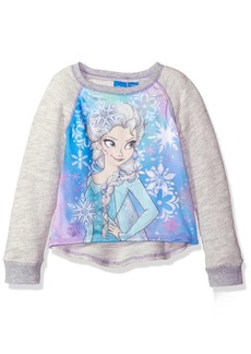 Disney Big Girls' Frozen Elsa Long-Sleeve Pullover