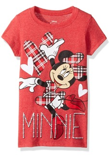 Disney Big Girls' Minnie Mouse Short Sleeve T  s