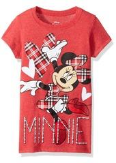 Disney Big Girls' Minnie Mouse Short Sleeve T  Xs