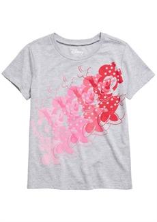 Disney Big Girls Minnie Mouse T-Shirt