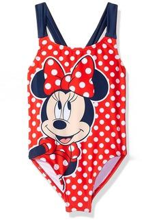 Disney Big Girls' Minnie Swimsuit  6X