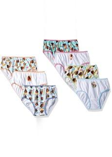 Disney Big Girls' Moana 7-Pack Panty
