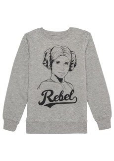 Disney Big Girls Princess Rebel Sweatshirt