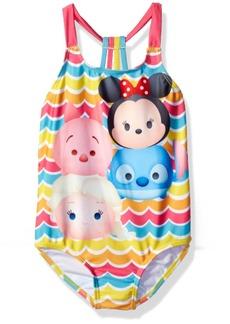 Disney Big Girls' Tsum Swimsuit  6X