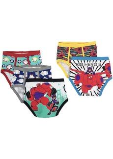 Disney Boys 5-Pack Big Hero 6 Brief Underwear Multi