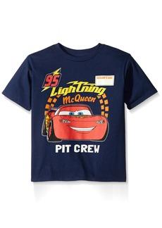 Disney Boys' Little Boys' Cars Lightning Mcqueen T-Shirt  Small/4