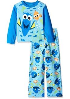 Disney Boys' Little Boys' Finding Dory 2-Piece Fleece Pajama Set