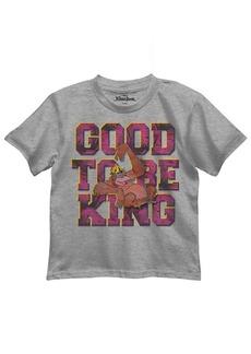 Disney Boys' Little Boys' the Jungle Book T-Shirt Heather Grey