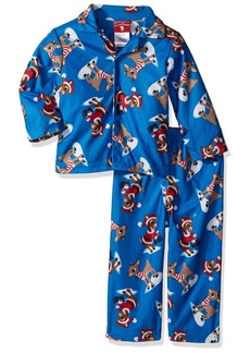 Disney Boys Rudolph The Red Nose 2-Piece Pajama Coat Set