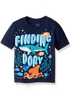 Disney Little Boys' Toddler Finding Dory Under the Sea Short Sleeve T-Shirt