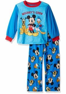 Disney Boys' Toddler Mickey Mouse 2-Piece Fleece Pajama Set