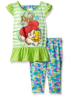 Disney Girls' 2-Piece Ariel The Little Mermaid Legging Set