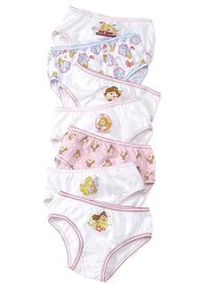 Disney's Princesses 7-Pack Cotton Underwear, Little Girls & Big Girls
