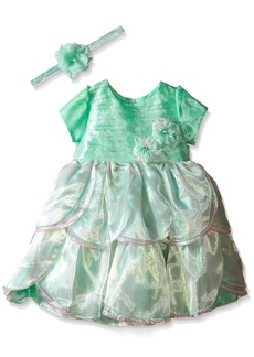 Disney Little Girls' Toddler Ariel Special Occasion Dress and Headband