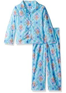 Disney Girls' Big Frozen 2-Piece Pajama Coat Set