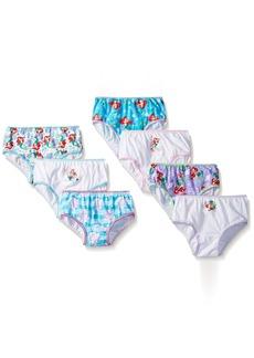 Disney Girls' Big Girls' Ariel 7 Piece Pack Panty