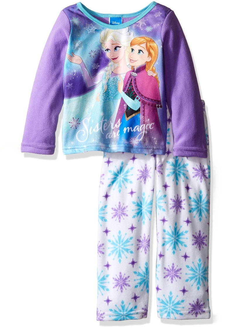 c4b78a2e5 Disney Disney Girls  Big Girls  Frozen Elsa and Anna 2-Piece Fleece ...