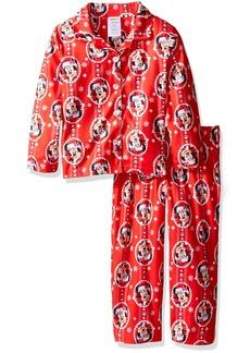 Disney Girls' Big Girls' Minnie Mouse 2-Piece Pajama Coat Set
