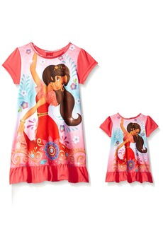 Disney Girls' Elena Of Avalor Nightgown Ready To Rule