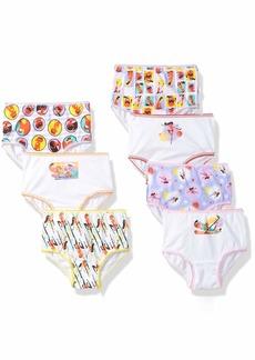 Disney Girls Incredibles 7-Pack Underwear Panties Toddler