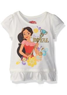 Disney Girls' Little Elena of Avalor Short Sleeve tee Shirt OFFWH