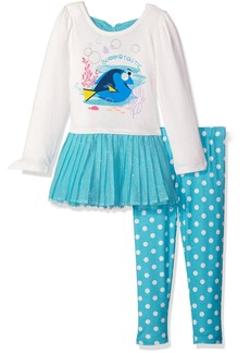 Disney Girls' 2 Piece Finding Dory Legging Set
