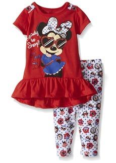 Disney Girls' Minnie Mouse 2-Piece Legging Set Ready To Shop