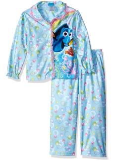 Disney Little Girls' Toddler Finding Dory 2-Piece Pajama Coat Set