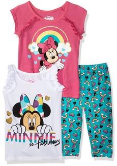 Disney Girls' Toddler Minnie Mouse 3 Piece Legging Set