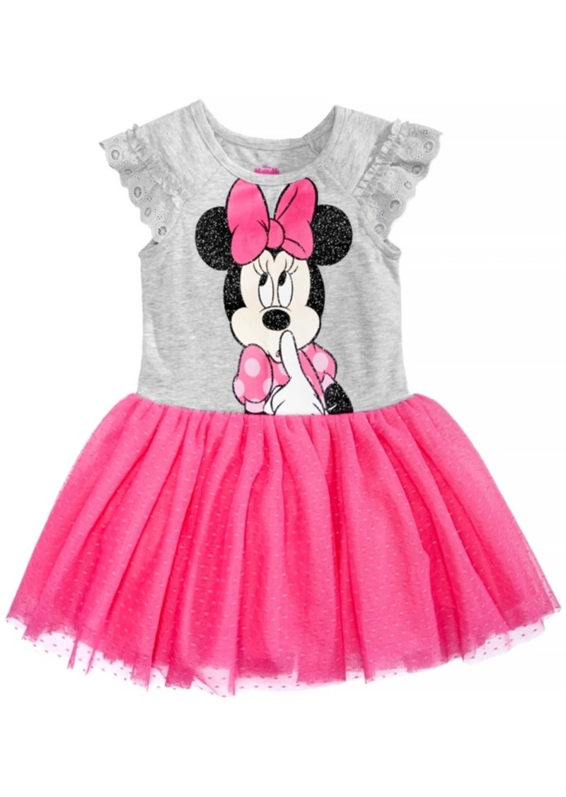 db8d9ee2ca8 's Minnie Mouse Glitter Dress, Little Girls