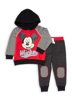 Disney Junior Little Boy's Two-Piece Graphic Hoodie & Pants Set