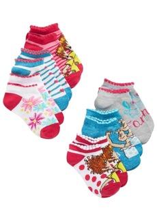 Disney Little & Big Girls 6-Pk. Fancy Nancy No-Show Socks