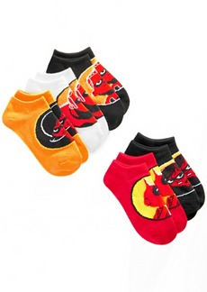 Disney Little Boys 5-Pk. The Incredibles No-Show Socks